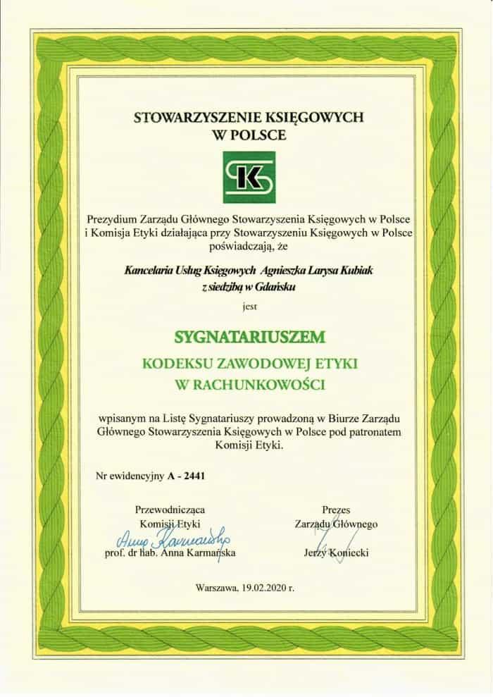 certyfikat_kodeksu_zawodowej_etyki_w_rachunkowości
