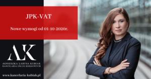 Kancelaria Usług Księgowych Agnieszka Larysa Kubiak Nowy JPK-VAT