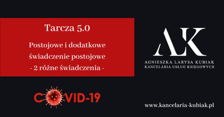 Kancelaria Usług Księgowych Agnieszka Larysa Kubiak Postojowe tarcza 5.0