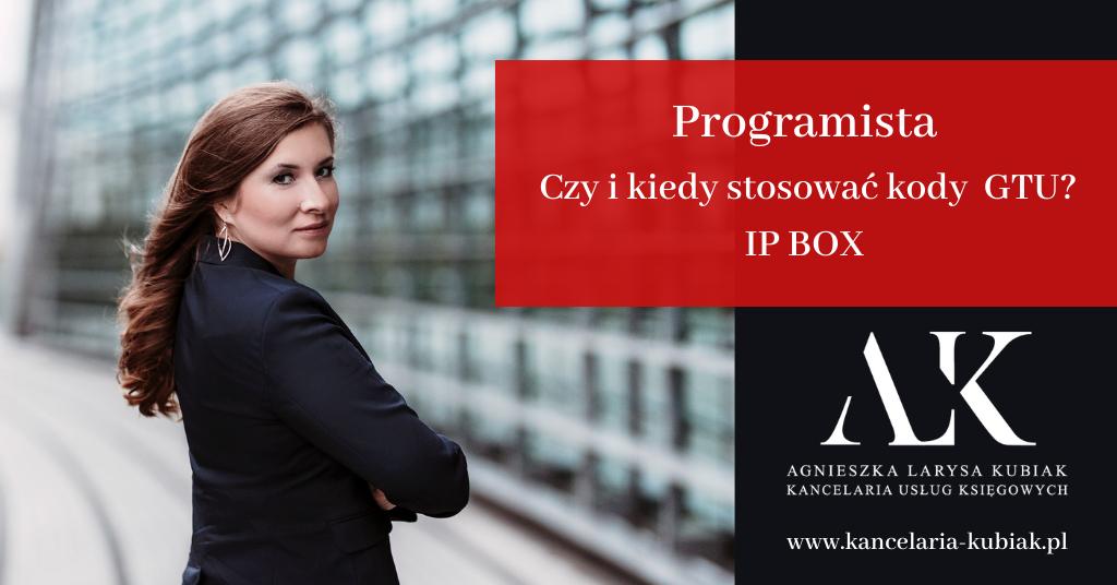 Kancelaria-Uslug-Ksiegowych-Agnieszka-Larysa-Kubiak-Programista-IP-BOX-GTU