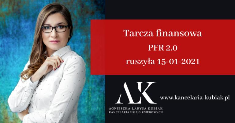 Kancelaria Usług Księgowych Agnieszka Larysa Kubiak Tarcza finansowa PFR 2.0