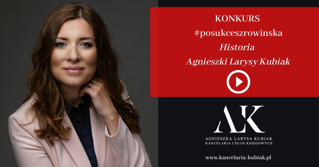 #posukceszrowinska Agnieszka Larysa Kubiak