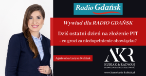 Kancelaria Usług Księgowych Agnieszka Larysa Kubiak PIT niezłożenie w terminie co grozi