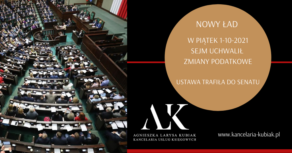 Sejm uchwalił Nowy Ład – teraz czas na Senat